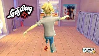 Miraculous Ladybug & Cat Noir | BACK TO SCHOOL Mission w/ ADRIEN!