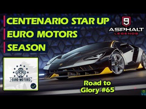 Asphalt 9 - F2P RTG #65 | Euro Motors Season + Centenario Star Up