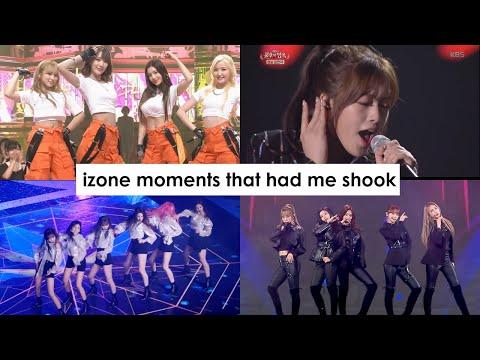 izone moments that had me shook