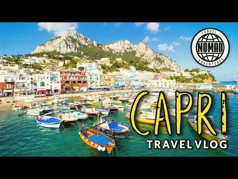 Day Trip Island of Capri | ITALY Travel Vlog