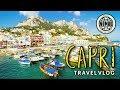 CAPRI Island, ITALY Travel Vlog