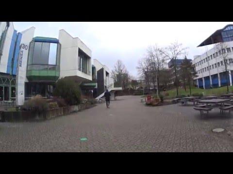 Campus of the University of Kaiserslautern on Saturday