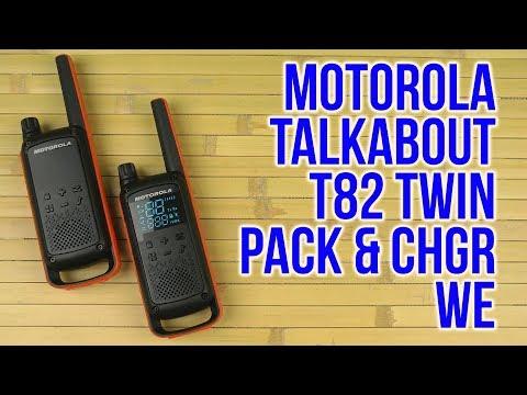Распаковка Motorola Talkabout T82 Twin Pack & Chgr WE B8p00811edrmaw