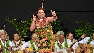 Eyra Tu'ihalangingie - Winner Miss Pre-Teen Tau'olunga - Heilala Festival