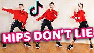 Hips Don't Lie Tik Tok Dance Tutorial (Shakira) - Mirrored