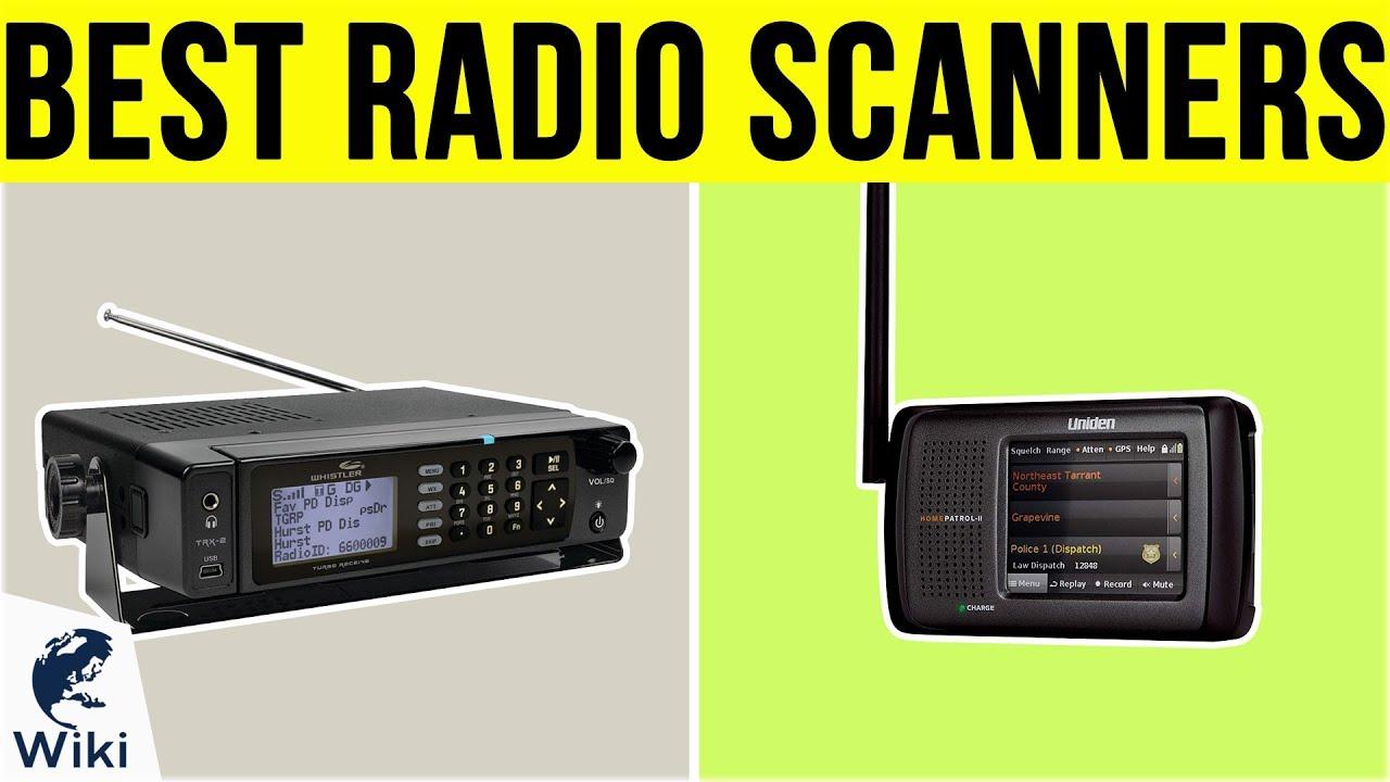 10 Best Radio Scanners 2019