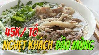 ĐÔNG NGHẸT KHÁCH Miến gà Kỳ Đồng  45k gần chùa MINH ĐẠO    Guide Saigon Food