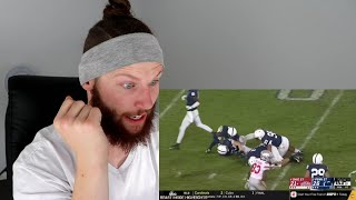 Rugby Player Reacts to PENN STATE Vs OHIO STATE 2018 Epic College Football Match!