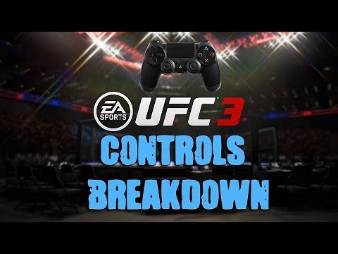 EA Sports UFC 3 Full Striking Controls Revealed!!