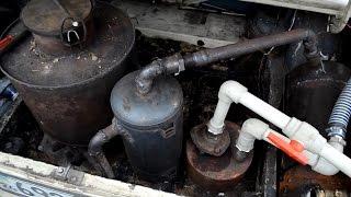 видео Авто на дровах своими руками. Дровяной газогенератор своими руками