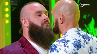 Tyson Fury announces super fight with Braun Strowman at WWE Crown Jewel