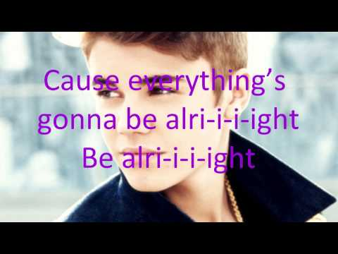 Justin Bieber - Be Alright (with Lyrics)