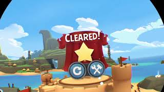 Angry Birds VR: Isle of Pigs psvr now with level editor and sharing soon!