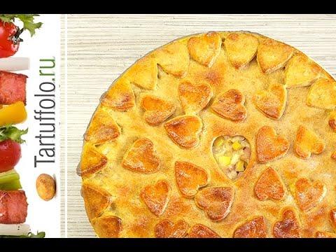 в и курицей духовке фото с пирог