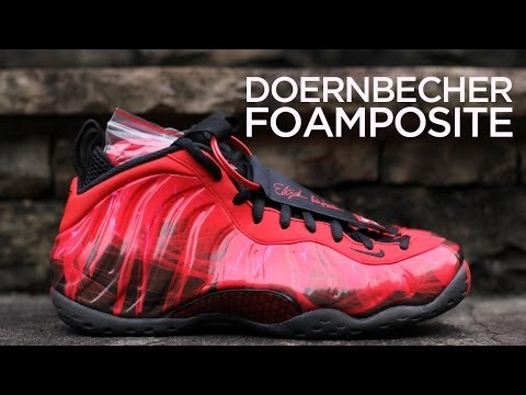Quick Look  Doernbecher Nike Air Foamposite One - YouTube 43751b2ad