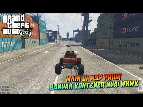 BALAPAN RC DI MAP PRIUK SUSAH BANGET WKWK - GTA 5 Indonesia Funny Moments