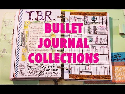 bullet journal collections explained youtube. Black Bedroom Furniture Sets. Home Design Ideas