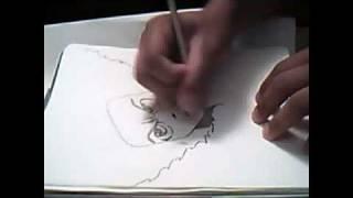 Drawing Huey Freeman PRT 2