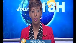 Le 13 Heures de RTI 1 du 11 janvier 2016 avec Fatou Fofana