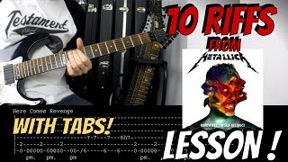 HOW TO PLAY the best RIFFS from