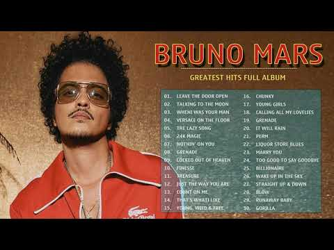 Leave The Door Open – BrunoMars Greatest Hits 2021 – BrunoMars Playlist – BrunoMars Full Album