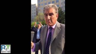 PTI Vice Chairman Shah Mahmood Qureshi questioned on anti-Ahmadiyya laws