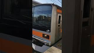 中央線209系トタ81試運転豊田発車