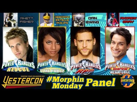 Power Rangers Panel (Rhett Fisher, Deborah Estelle Philips, Dan Ewing, Andrew Gray [YESTERCON 2015]