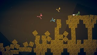 [Stick Fight the Game] - Великое противостояние Микеши и Димана.