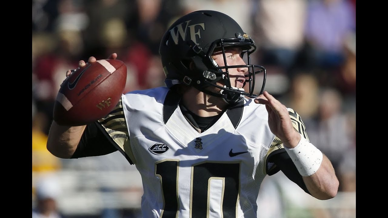 Nfl Draft John Wolford Profile Wake Forest Demon Deacons Quarterback Youtube