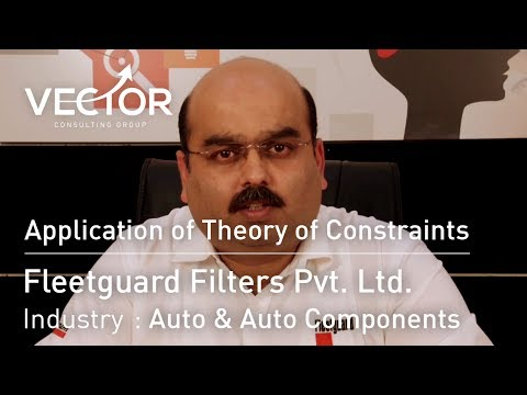 Fleetguard Filters: Ten Years Of TOC Implementation
