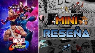 Mini Reseña Marvel vs. Capcom Infinite | 3GB
