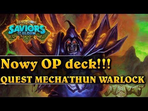 Nowy OP deck!!! - QUEST MECHA'THUN WARLOCK - Hearthstone Decks (Saviors of Uldum)