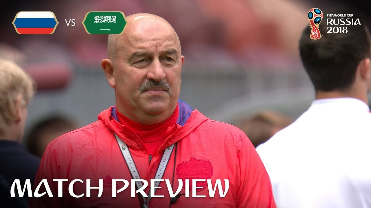 Stanislav Cherchesov (RUSSIA) - Match 1 Preview - 2018 FIFA World Cup™