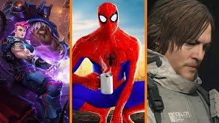Blizzard Cancels HotS Events + Spider-Man DLC Criticism + Death Stranding