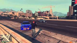 GTA V: Boom projection !