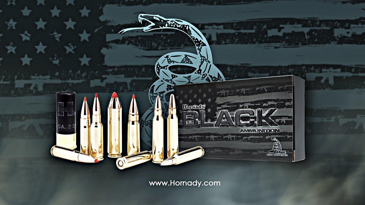 Hornady® BLACK™ Ammunition Commercial