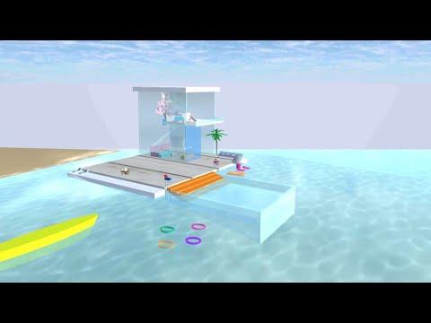 ไปเที่ยวทะเลกันค่ะ |Short film|Beach trip ~ sakura school simulator พี่ปอ