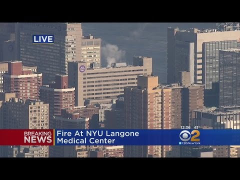 Fire At NYU Langone Medical Center - YouTube