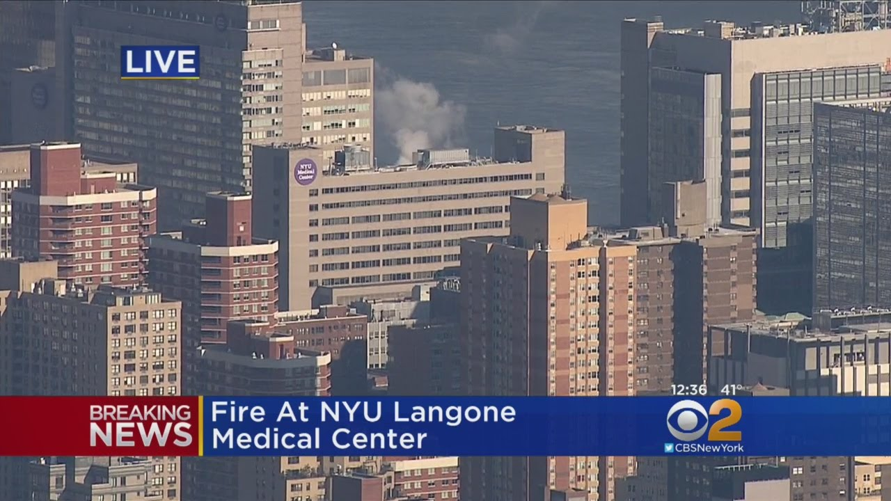 Fire At NYU Langone Medical Center