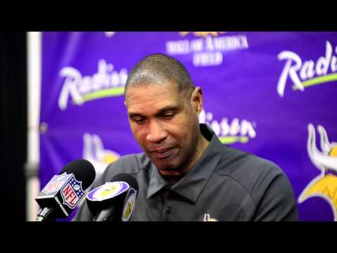 Video: Vikings coach Leslie Frazier on controversial call