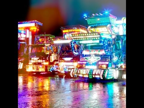 Pretty Dekotora Lights - Total Fascination