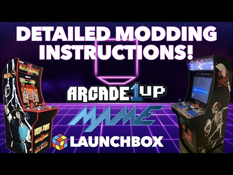 How To Mod Arcade1Up! | Detailed Instructions! from Killer Arcade Games