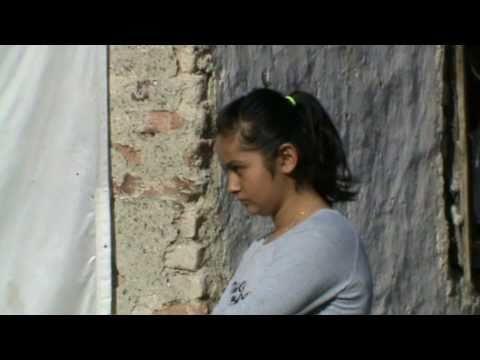 Kurban Kesimi KKB slaughtering watching  girls. Cut the victim. Turkey ankara