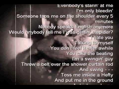 FAITH NO MORE - RV with Lyrics