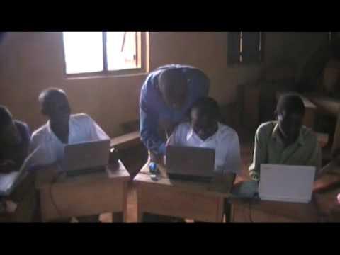 Uganda Partnership Computer classes