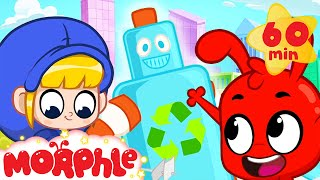 Mila And Morphle Recycle - Earth Day   Cartoons For Kids   My Magic Pet Morphle