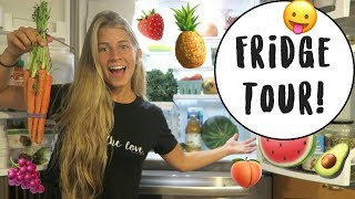 FULL FOOD HAUL & FRIDGE TOUR. 🥑