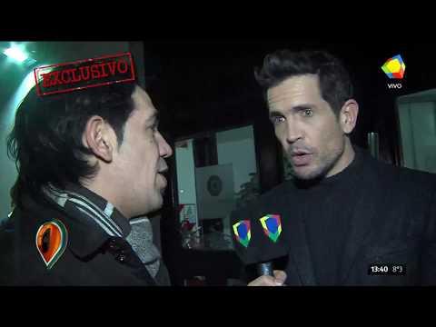 Claudia Fontán y Diego Ramos tras la salida de Pampita