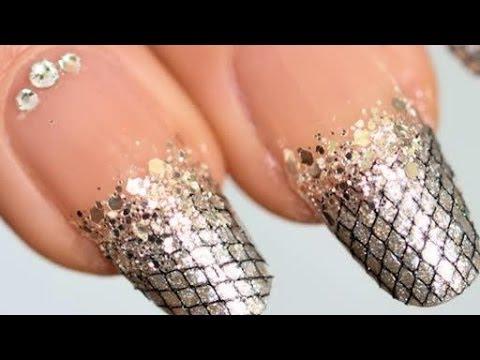 panic nail art crocodile skin